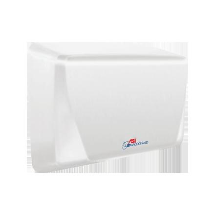 10-0199-2-00 ASI JD MacDonald Turbo-Slim Hand Dryer White
