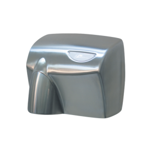 HDABSSSSC AUTOBEAM Automatic Hand Dryer - Satin Stainless Steel with Satin Chrome Nozzle